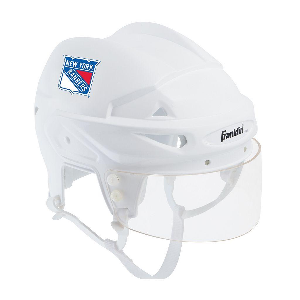 Franklin NHL Hockey New York Rangers Mini Player Helmet