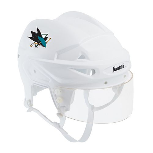 Franklin NHL Hockey San Jose Sharks Mini Player Helmet