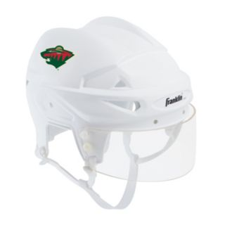 Franklin NHL Minnesota Wild Mini Player Helmet
