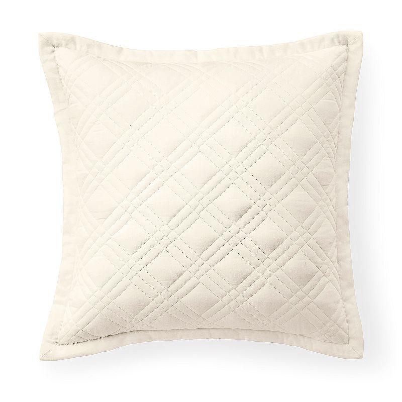 Kohls White Throw Pillows : Chaps White Pillow Kohl s