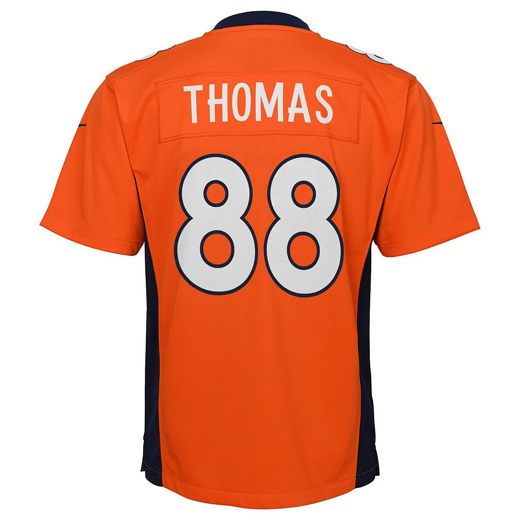 Boys 8-20 Nike Denver Broncos Demaryius Thomas Game NFL Replica Jersey