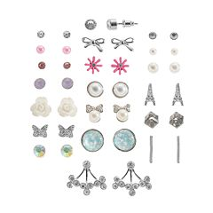 Mudd® Fashion Stud & Drop Earring Set