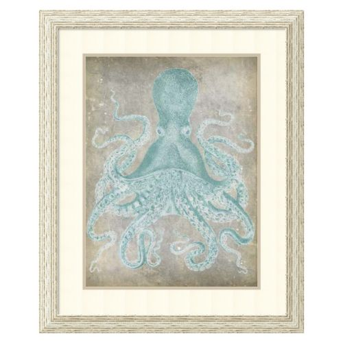 ''Spa Octopus I'' Framed Wall Art