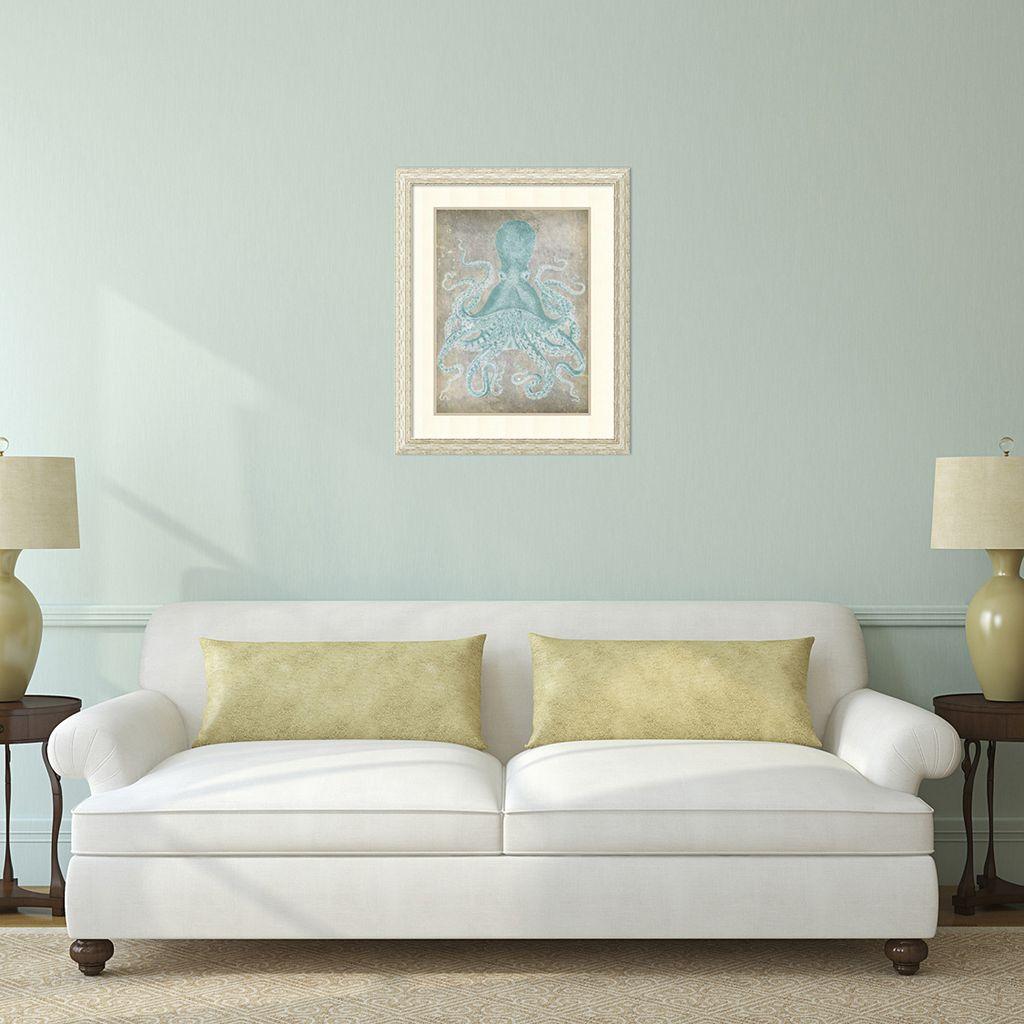 ''Spa Octopus I'' Framed Wall Art