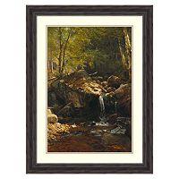 ''Thompson Cascade, White Mountains'' Framed Wall Art