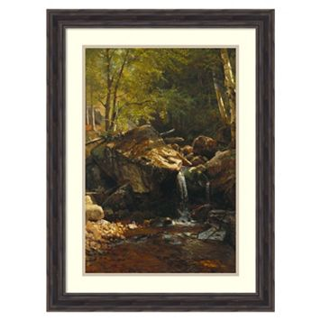 ''Thompson Cascade, White Mountains'' Framed Wall Art