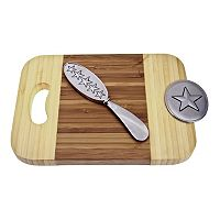 Thirstystone Star 2-pc. Bamboo Serving Set