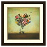 ''Big Heart Botany'' Framed Wall Art