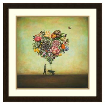 ''Big Heart Botany'' Framed Wall Art