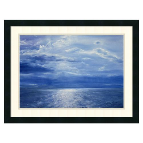 """Deep Blue Sea, 2001"" Framed Wall Art"