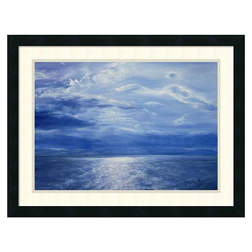 ''Deep Blue Sea, 2001'' Framed Wall Art