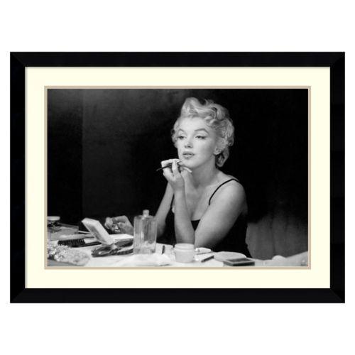 """Marilyn Monroe – Back Stage"" Framed Wall Art"