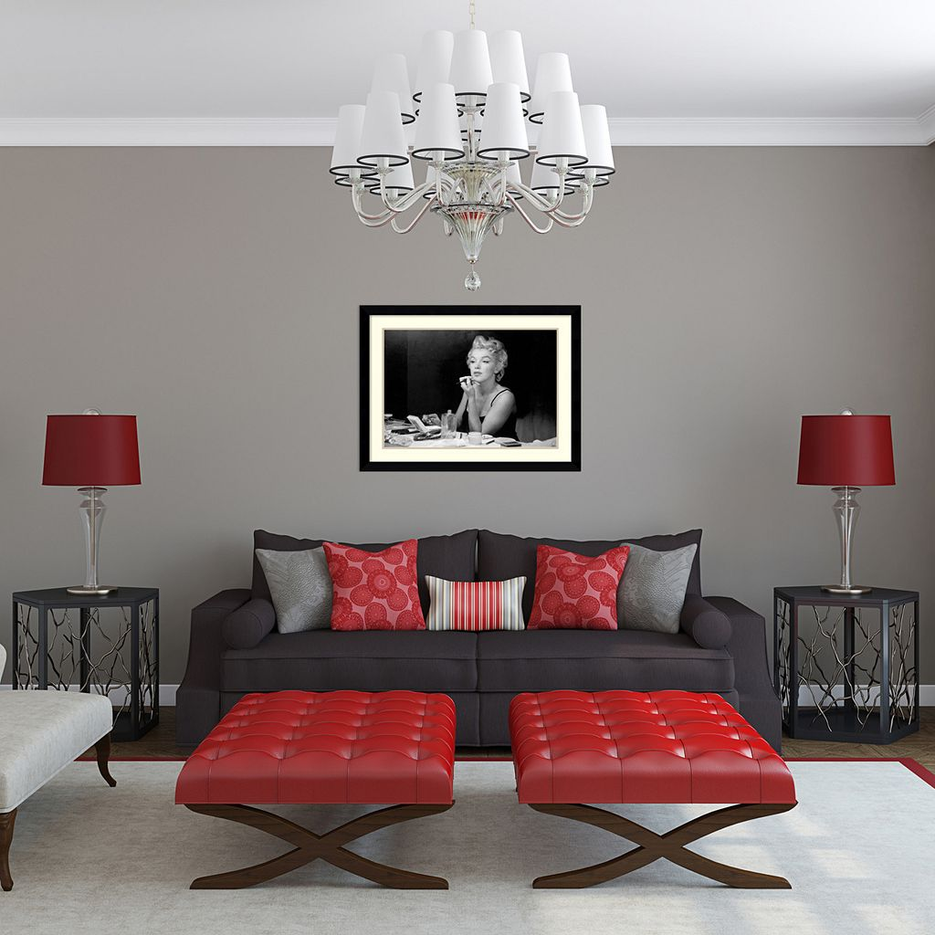 ''Marilyn Monroe - Back Stage'' Framed Wall Art