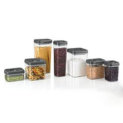 Polder 7-pc. Twist & Lock Canister Set