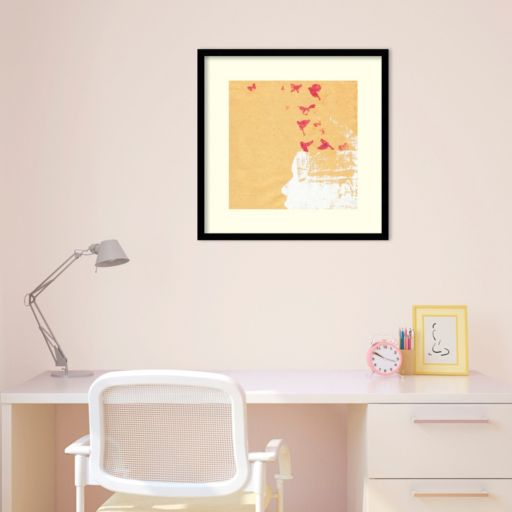 'Open Your Mind 2'' Framed Wall Art