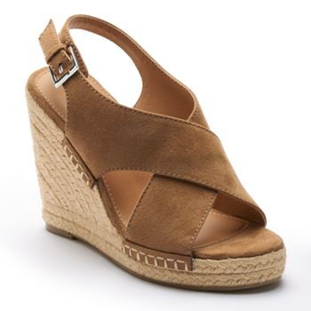 Apt. 9 Womens Wedge Sandals