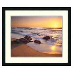 'Pacific Calm'' Framed Wall Art