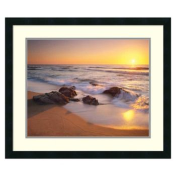 """Pacific Calm'' Framed Wall Art"