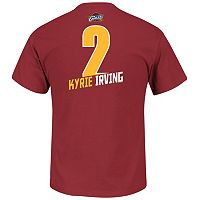 Men's Majestic Cleveland Cavaliers Kyrie Irving Record Holder Tee
