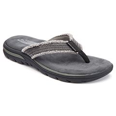 Skechers Relaxed Fit Supreme Men's Flip-Flops