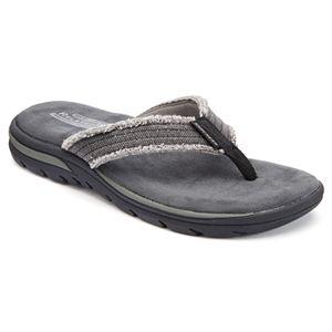182c80735daf Men s Chaps Soft Sock Thong Flip-Flops. Sale.  39.99. Original.  50.00. Skechers  Relaxed Fit ...
