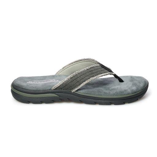 Skechers Relaxed Fit Supreme Men's Flip-Flops