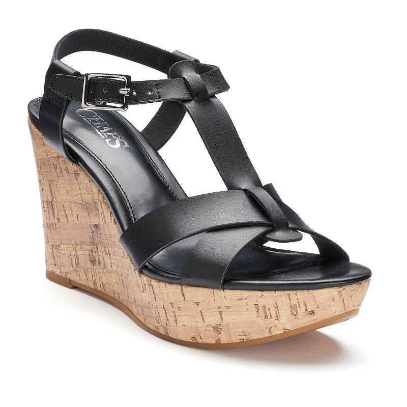 Chaps Afton Women's Wedge Sandals