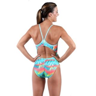 Women's Dolfin Uglies V-2 Printed One-Piece Swimsuit