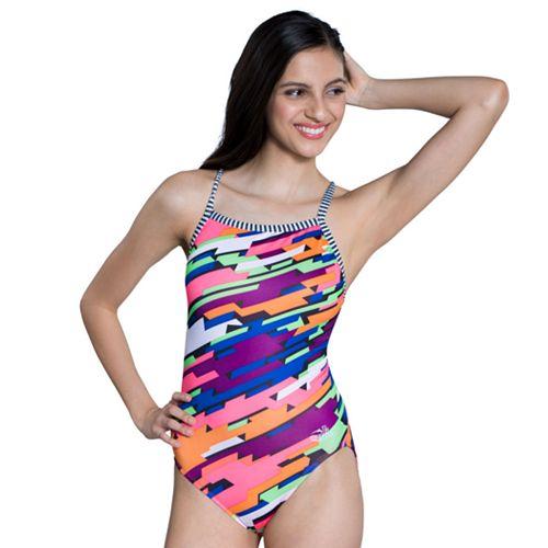 Women's Dolfin Uglies V-2 Back One Piece Swimsuit