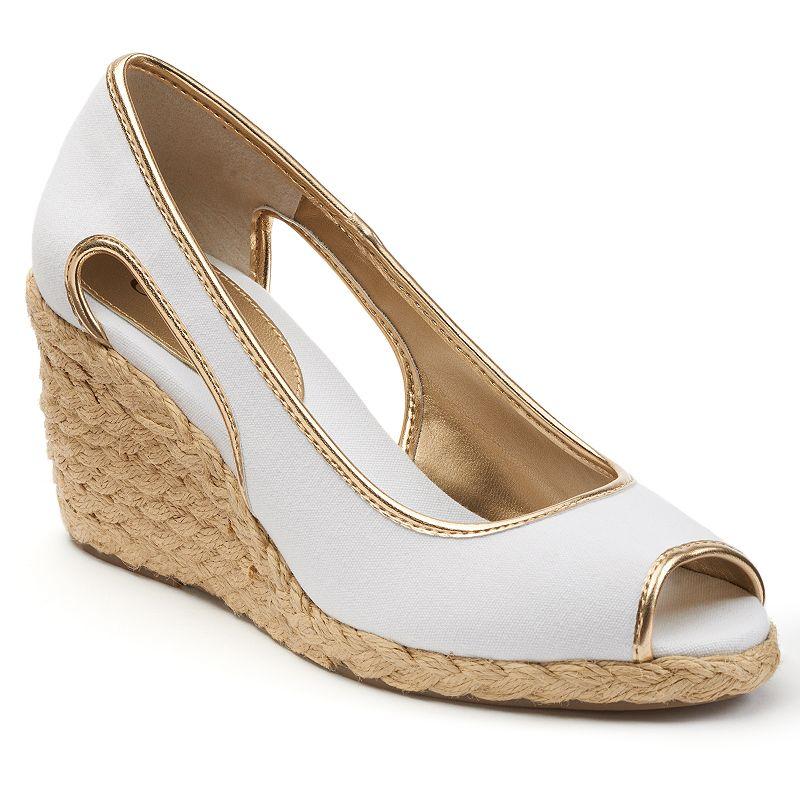 Chaps Daye Women's Espadrille Wedge Sandals