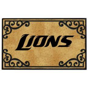 """Detroit Lions Doormat - 24"""" x 39"""""""