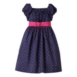 Toddler Girl Chaps Polka-Dot Dress