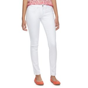 Juniors' SO® White Jeggings