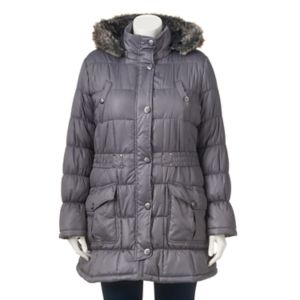 Juniors' Plus Size Urban Republic Puffer Jacket