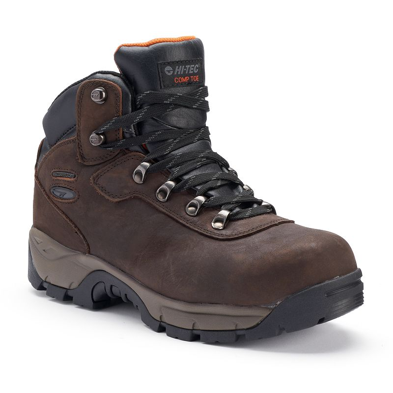 Outsmart every challenge with the comfort and protection of these men's Work Relaxed Fit Cankton steel-toe shoes from Skechers.