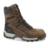 Wolverine Tarmac Men's Waterproof 8-in. Composite-Toe Work Boots