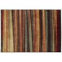 Nourison Aristo Brushed Stripes Rug