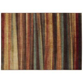 Nourison Aristo Brushed Stripes Rug