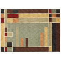 Nourison Aristo Contemporary Squares Rug