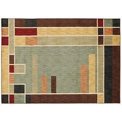 Nourison Aristo Contemporary Squares Rug