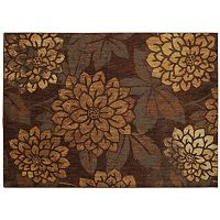 Nourison Aristo Dahlia Floral Rug