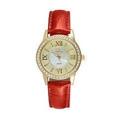 Peugeot Women's Leather Watch