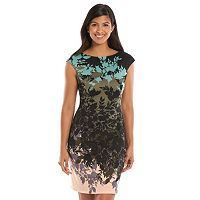Women's Suite 7 Leaf Sheath Dress