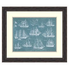 'Sailing Ships'' Framed Wall Art