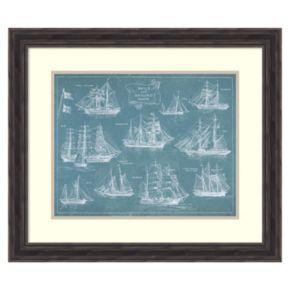 """""""Sailing Ships'' Framed Wall Art"""