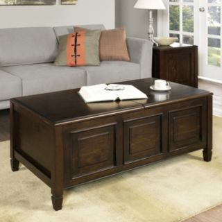 Simpli Home Connaught Coffee Table