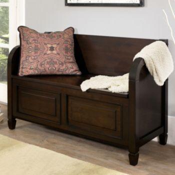 Simpli Home Connaught Storage Bench