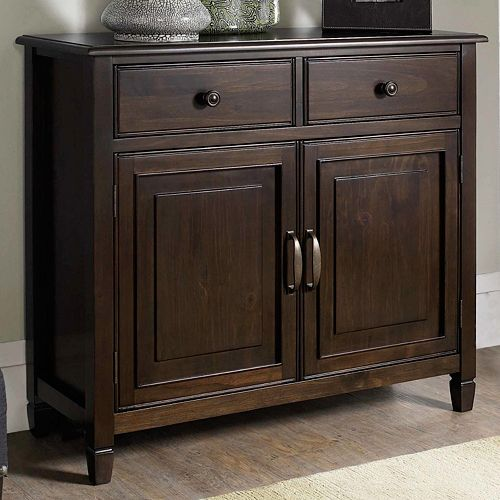 Simpli Home Connaught Entryway Storage Cabinet