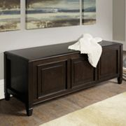 Simpli Home Connaught Storage Trunk Bench