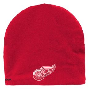 Youth Reebok Detroit Red Wings Mask Knit Cap